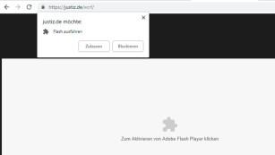 Google Chrome 69: Flash©COMPUTER BILD