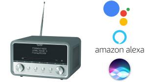 Technisat Radio mit Sprachsteuerung©TECHNISAT, AMAZON, GOOGLE, APPLE