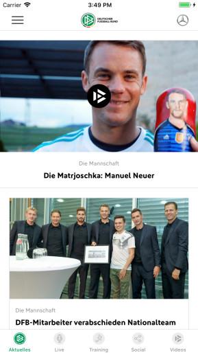 DFB (App für iPhone und iPad)