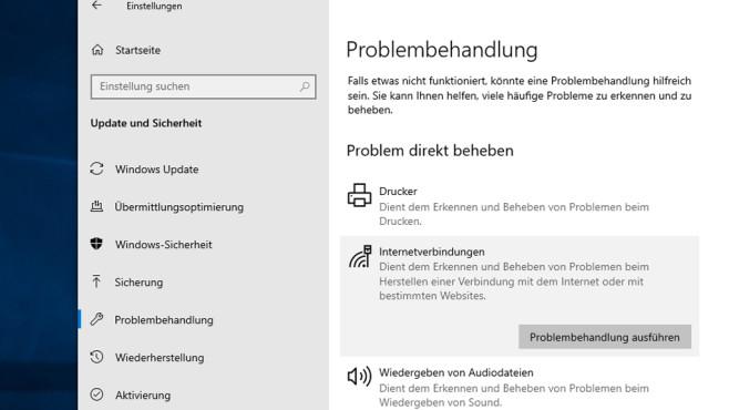 Windows: Probleme erkennen und beheben – automatische Troubleshooter©COMPUTER BILD