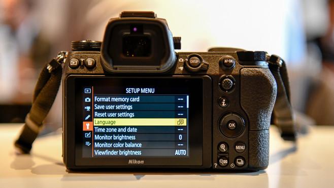 Nikon Z6 Rückseite©COMPUTER BILD