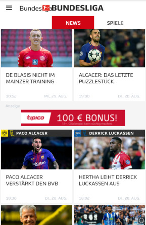 Bundesliga (App für iPhone und iPad)