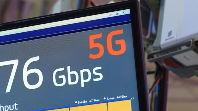 5G-Mobilfunknetz©dpa Bildfunk