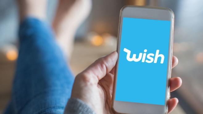 Die Wish-App©COMPUTERBILD, Wish