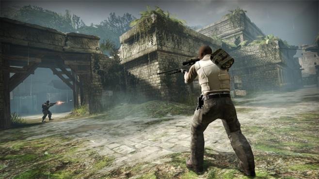 Counter-Strike – Global Offensive: Kostenlose Edition aufgetaucht! In der Free Edition duellieren Sie sich lediglich mit Bots.Online-Duelle mit anderen Spielern aus dem Internet sind nichtmöglich.©Valve