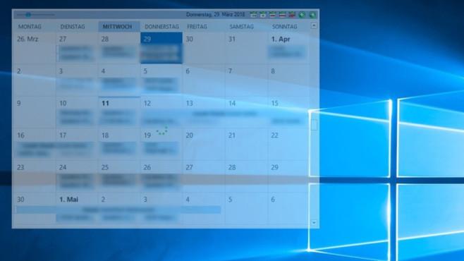 Outlook on the Desktop: Outlook-Termine schick präsentieren ©COMPUTER BILD