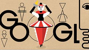 Google Doodle: Oskar Schlemmer©Google