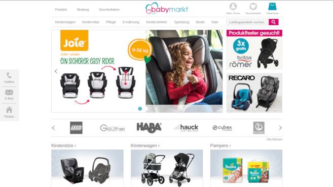 2a4d2528b461c9 Gutschein  15 Euro Rabatt auf babymarkt.de - COMPUTER BILD