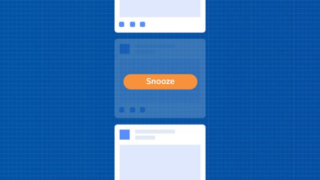 Facebook Snooze©Facebook
