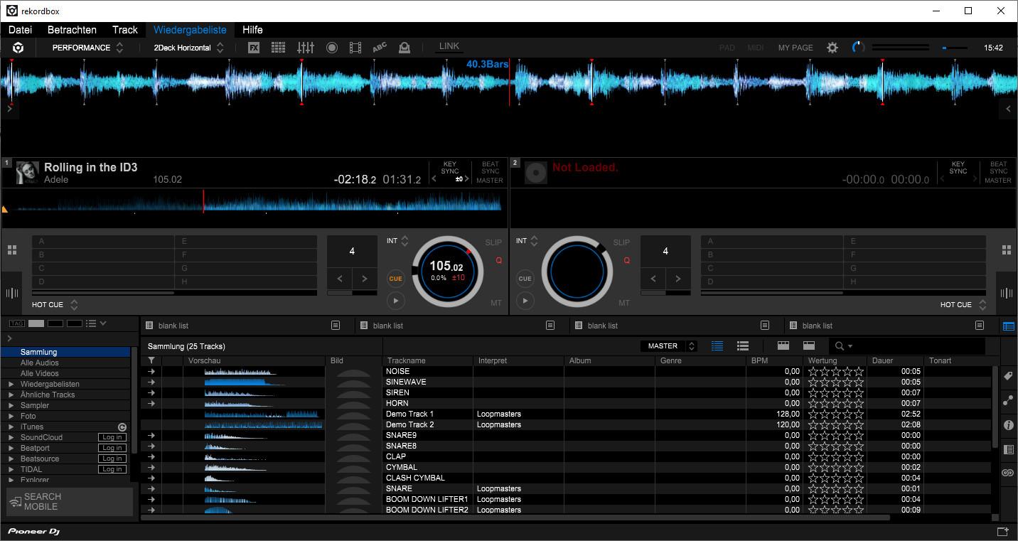 Screenshot 1 - Rekordbox