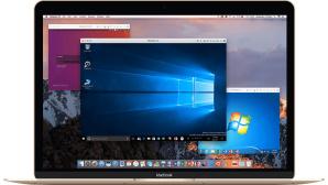 Parallels Desktop 14 auf Apple MacBook©Parallels International GmbH