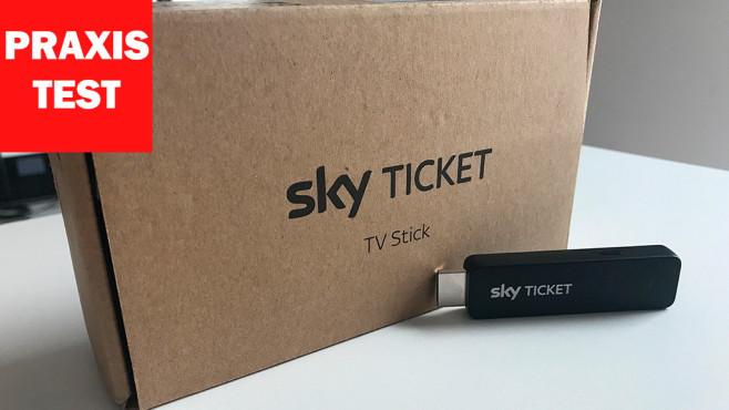 Sky Ticket TV-Stick im Praxis-Test © COMPUTER BILD