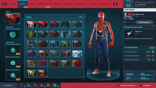 Spider-Mans Anzüge: Mit Style durch Manhattan©Sony