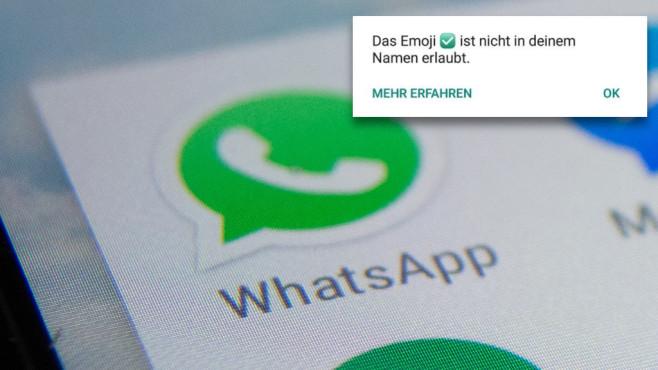whatsapp haken rot