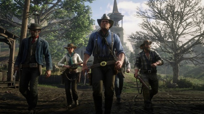 Red Dead Redemption 2 Gang © Rockstar Games