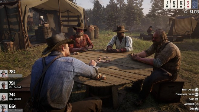 Red Dead Redemption 2 Poker © Rockstar Games