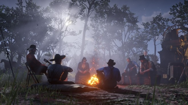 Red Dead Redemption 2 Camp © Rockstar Games