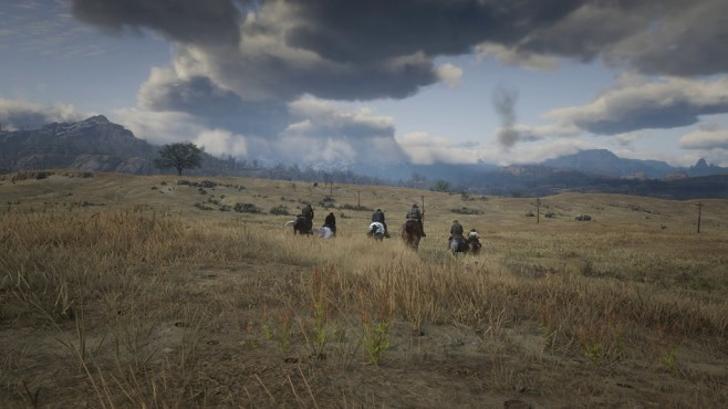 Red Dead Redemption 2 Outlaws auf der Flucht © Rockstar Games