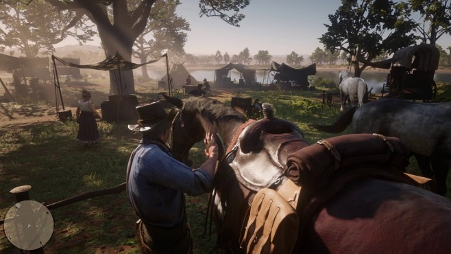 Red Dead Redemption 2 Pferd © Rockstar Games