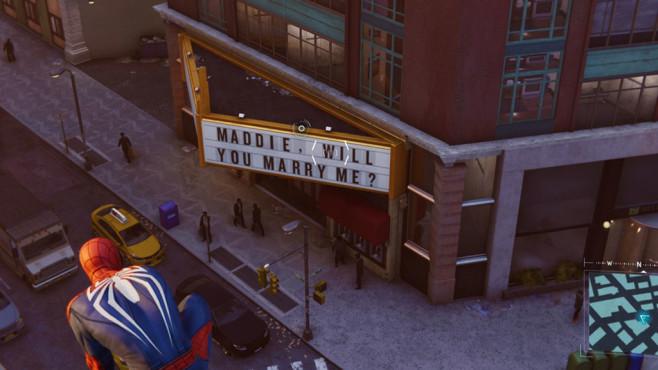 Spider-Man: Heiratsantrag©Sony