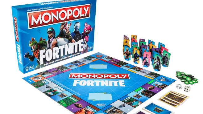 Fortnite: Monopoly-Ausgabe © Hasbro/Epic Games