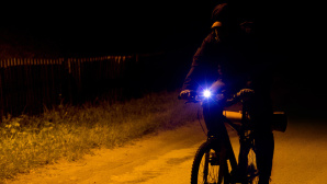 Fahrradbeleuchtung©istock/ellemarien