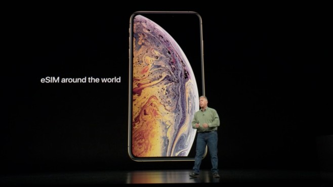 Apple iPhone XS (Max): Dual-SIM für alle © COMPUTER BILD / Apple