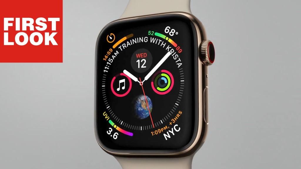 Apple Watch Series 4 Ausprobiert Runde Sache