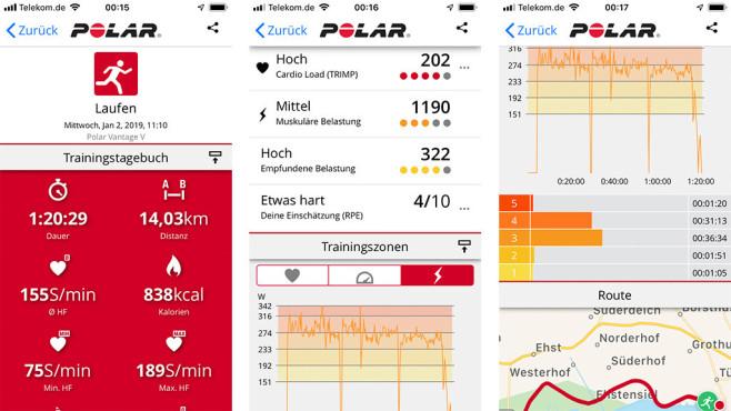 Polar bringt Leistung: Sport-Uhr Vantage V©COMPUTER BILD