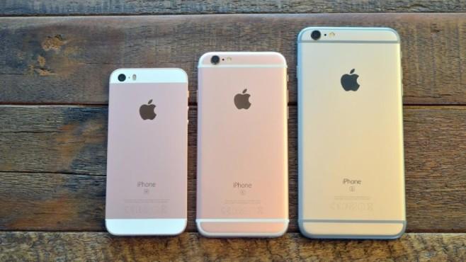 Apple iPhone SE, iPhone 6S, iPhone 6S Plus©Dierk Kruse, Bild.de