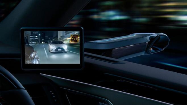 Lexus ES: Kamera-Spiegel©Lexus