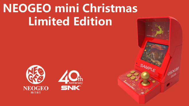 Neo Geo Mini Christmas Edition © SNK