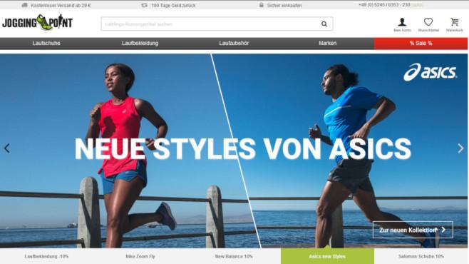 Jogging point 5 euro gutschein