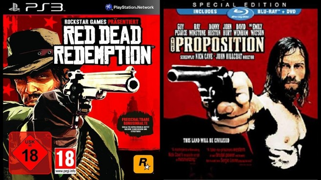 Cover von Red Dead Redemption und The Proposition © Rockstar Games/First Look Studios
