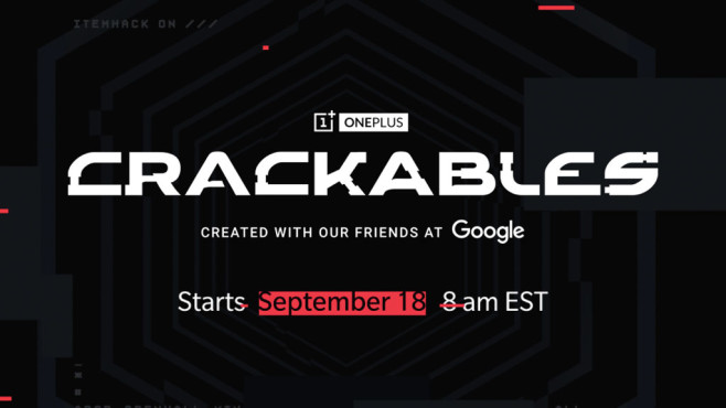 Crackables © OnePlus