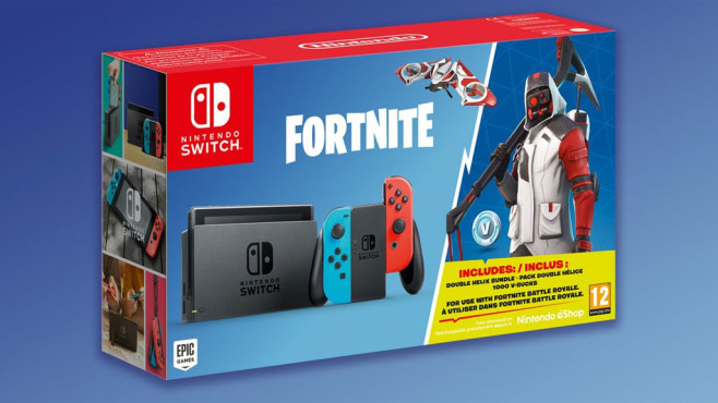 Nintendo Switch: Fortnite-Bundle © Nintendo