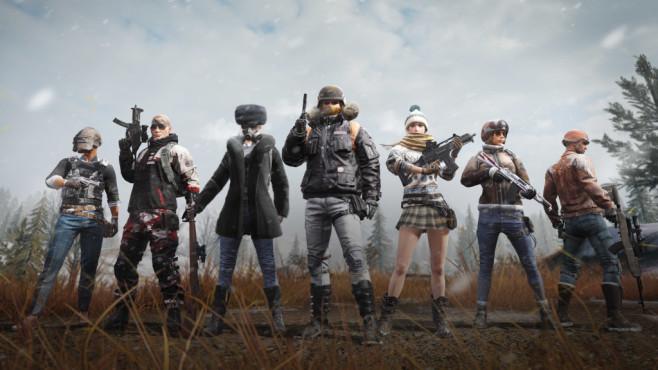 Pubg Battle Royale Shooter Pc Ps4 Tencent Steam Awards Computer