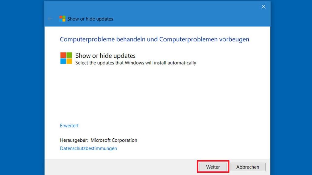 Windows Updates deaktivieren