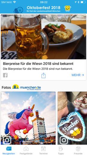 Oktoberfest (App für iPhone & iPad)