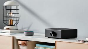 Amazon Echo Link Amp im Test: Stereo-Verstärker bringt Alexa auf Ihre Premium-Boxen! Amazon Echo Link Amp: HiFi-Kompagnon mit Alexa im Test.©Amazon