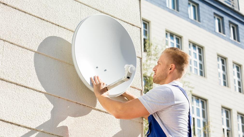 Internet per Satellit