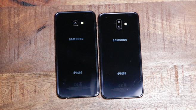 Samsung Galaxy J6 Plus: Preis, Release, Kauf Äußerlich kann man das Galaxy J6+ nur durch die zwei Kamera-Linsen vom Galaxy J4+ unterscheiden.©COMPUTER BILD