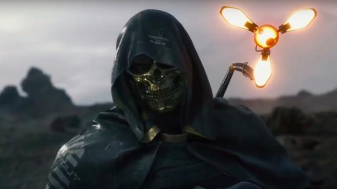 """Tokyo Game Show 2018: Das sind die Highlights! In """"Death Stranding"""" sind viele Schauspieler mit an Bord, so etwa Troy Baker als """"Mann mit goldener Maske"""".©Sony"""