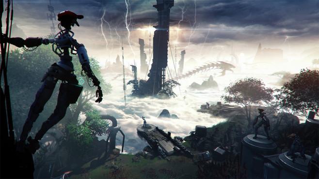Stormland.©Insomniac Games