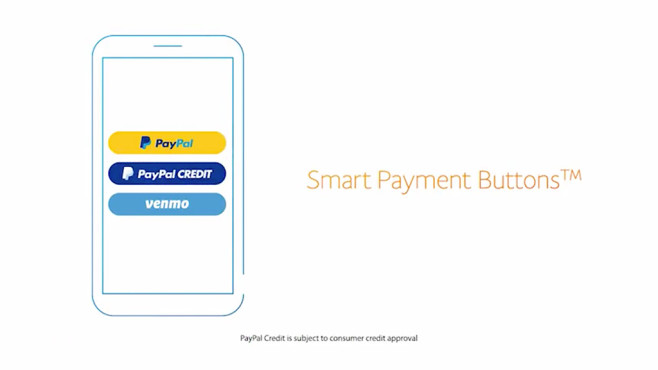 PayPal: Bezahldienst startet Smart Payment Buttons auch in Deutschland PayPal © PayPal/YouTube-Screenshot