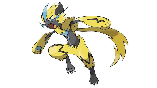 Zeraora © The Pokémon Company