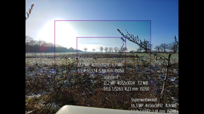 LG V40 ThinQ©COMPUTER BILD/Michael Huch