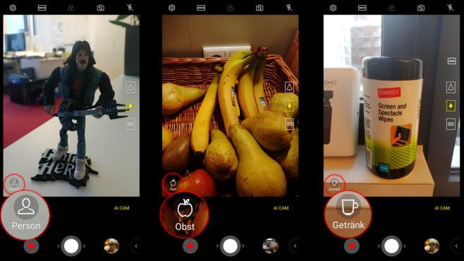 LG V40 ThinQ AI Cam©COMPUTER BILD/Michael Huch