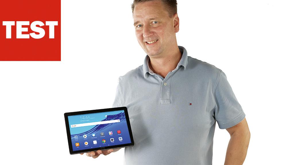 Huawei Mediapad M5 Lite Tablet Im Test Computer Bild