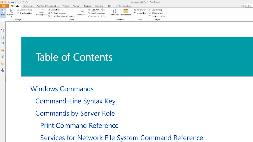Windows-Konsole: Bordmittel und PDF-Dokumentation erklären Befehle Im Quasi-Lexikon tauchen klassische Kommandozeilenbefehle auf; GUI-Tools (Graphical User Interface), also solche mit grafischer Bedienerführung wie dfrgui.exe oder control.exe sind nicht aufgeführt.